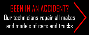 Been in an Accident? Our technicians repair all makes and models of cars and trucks